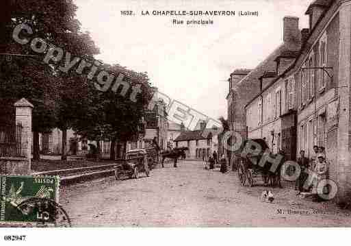 Ville de CHAPELLESURAVEYRON(LA), carte postale ancienne