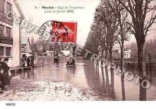 Meulan photo et carte postale for Piscine de meulan