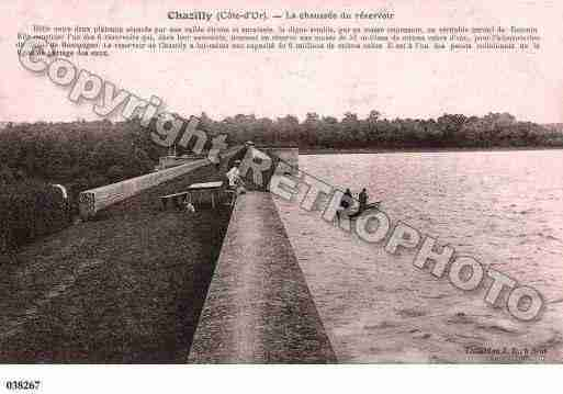 Ville de CHAZILLY, carte postale ancienne