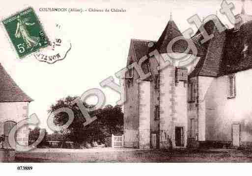 Ville de COULANDON, carte postale ancienne