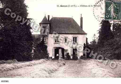 Ville de GOVEN, carte postale ancienne
