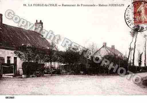 Ville de POINCONNET(LE), carte postale ancienne