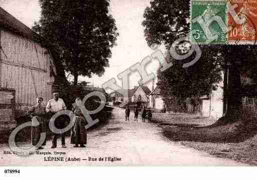 Ville de SAINTGERMAIN, carte postale ancienne