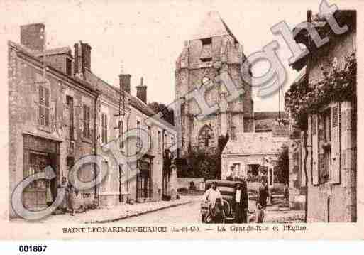 Ville de SAINTLEONARDENBEAUCE, carte postale ancienne