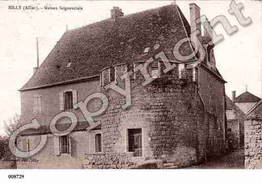 Ville de BILLY, carte postale ancienne