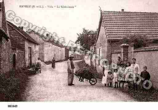 Ville de HAVELU, carte postale ancienne