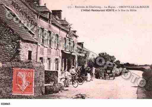 Ville de OMONVILLELAROGUE, carte postale ancienne