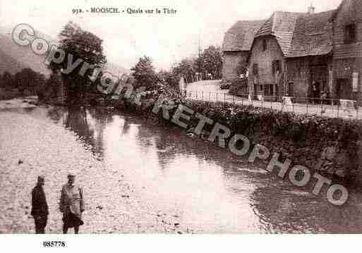 Ville de MOOSCH, carte postale ancienne