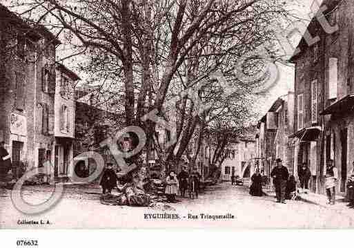 Rue Trinquetaille d'Eyguières (B.-du-R.)