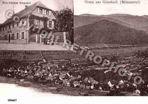 Ville de GUNSBACHVILLAGE, carte postale ancienne