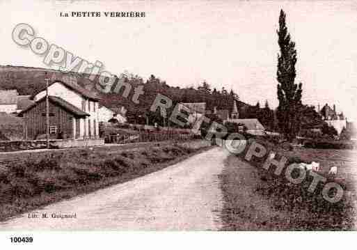 Ville de PETITEVERRIERE, carte postale ancienne