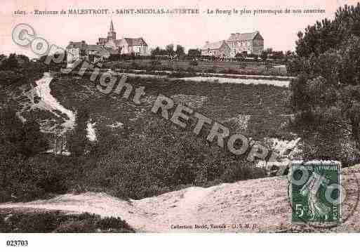 Ville de SAINTNICOLASDUTERTRE, carte postale ancienne