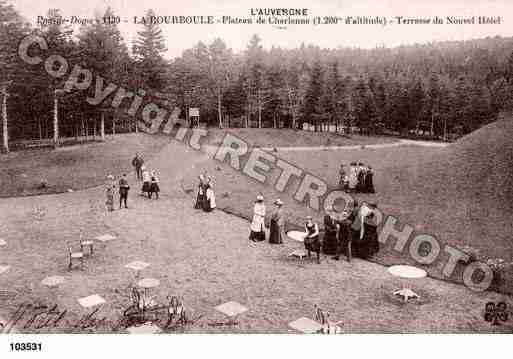 Ville de BOURBOULE(LA), carte postale ancienne