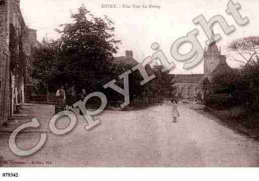 Ville de ESTRY, carte postale ancienne