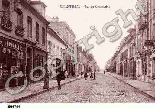Ville de CHANTILLY, carte postale ancienne