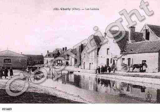 Ville de CHARLY, carte postale ancienne