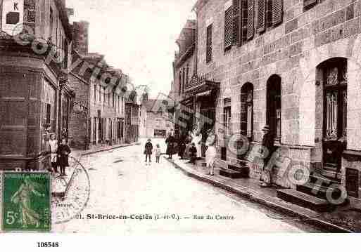 Ville de SAINTBRICEENCOGLES, carte postale ancienne