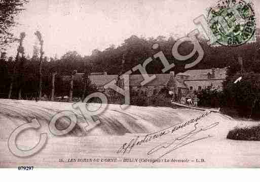 Ville de BULLY, carte postale ancienne