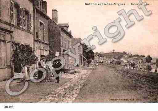 Ville de SAINTLEGERDESVIGNES, carte postale ancienne