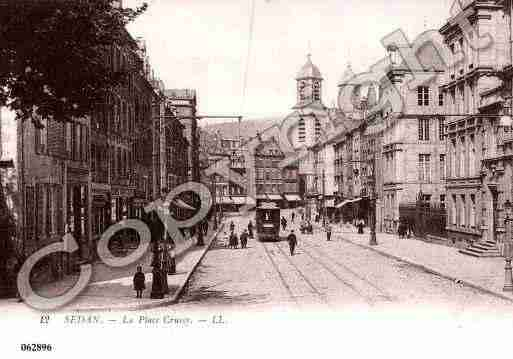 Ville de SEDAN, carte postale ancienne