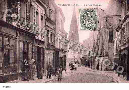 Ville de VENDOME, carte postale ancienne