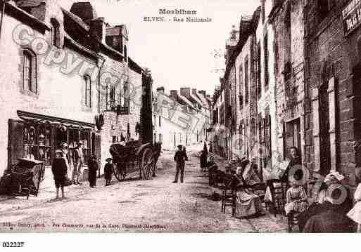 Ville de Elven, PH041745 C. Photo inspirée d'une carte postale