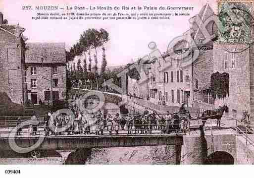 Ville de MOUZON, carte postale ancienne