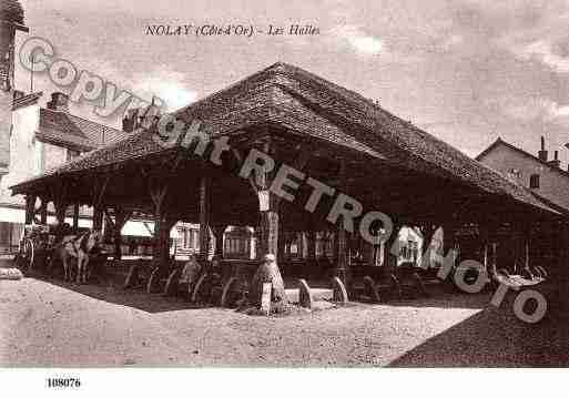 Ville de NOLAY, carte postale ancienne
