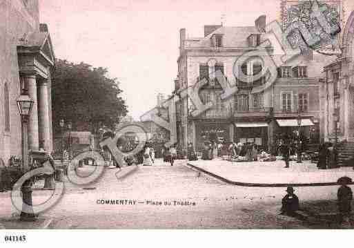 Ville de COMMENTRY, carte postale ancienne