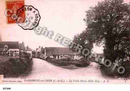 Ville de SAINTGEORGESSURCHER, carte postale ancienne