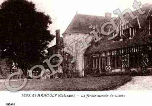 Ville de SAINTARNOULT, carte postale ancienne