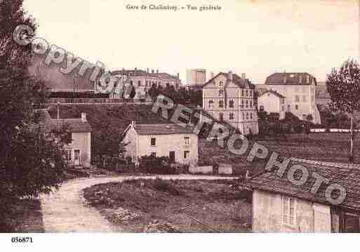 Ville de CHALINDREY, carte postale ancienne