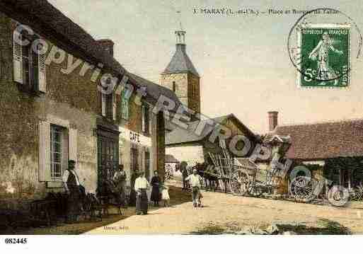 Ville de MARAY, carte postale ancienne