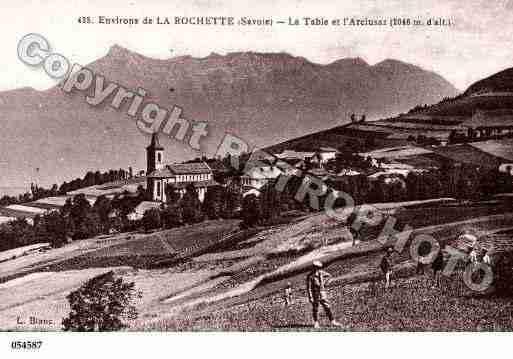 Table la photo et carte postale - La table de savoie et la table de bretagne ...