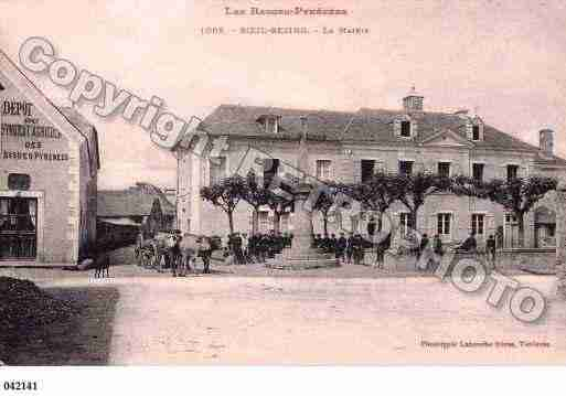 Ville de BOEILBEZING, carte postale ancienne