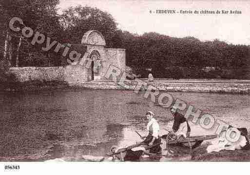 Ville de Erdeven, PH041749 F. Clichés édités d'une carte postale