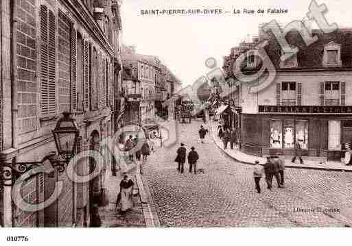 Ville de SAINTPIERRESURDIVES, carte postale ancienne