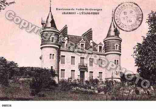 Ville de ETANGVERGY(L'), carte postale ancienne