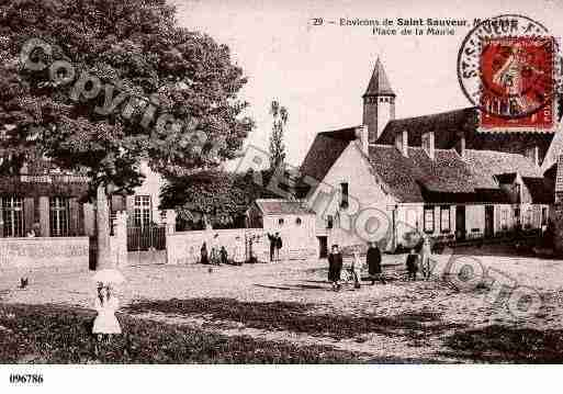 Ville de MOUTIERS, carte postale ancienne