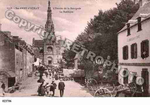 Ville de SAINTEANNED'AURAY, carte postale ancienne