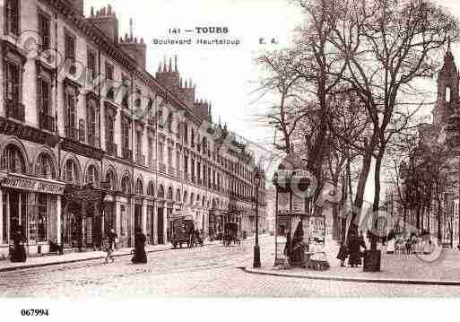 carte postale tours