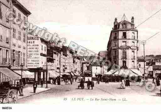 Ville de PUYENVELAY(LE), carte postale ancienne