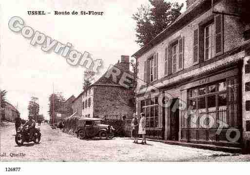 Villes et villages en cartes postales anciennes .. - Page 3 Photos-carte-ussel-cantal-PH016251-B
