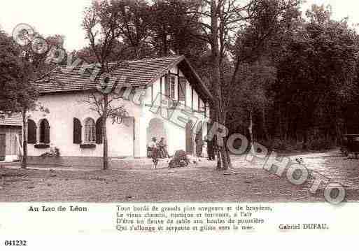 carte postale ancienne de la ville de leon 28952 c. Black Bedroom Furniture Sets. Home Design Ideas