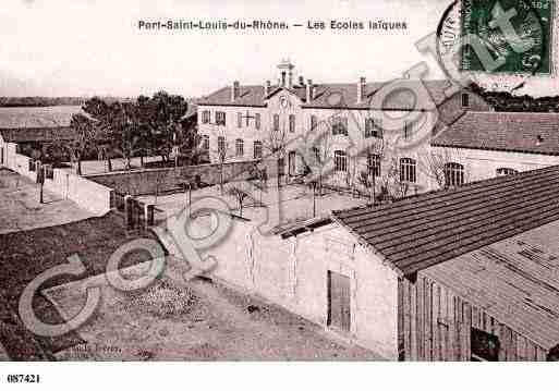 Portsaintlouisdurhone photo et carte postale - College port saint louis du rhone ...
