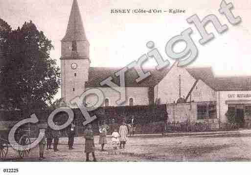 Ville de ESSEY, carte postale ancienne
