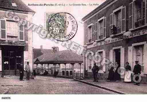 Ville de AUTHONDUPERCHE, carte postale ancienne