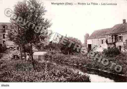 Ville de ORRYLAVILLE, carte postale ancienne