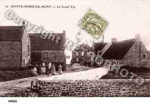 Ville de SAINTEMARIEDUMONT, carte postale ancienne