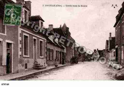 Ville de CELLE(LA), carte postale ancienne